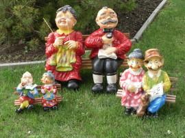 Figurenland Herborn Gartenmöbel Und Figurenshop Oma Opa Dick